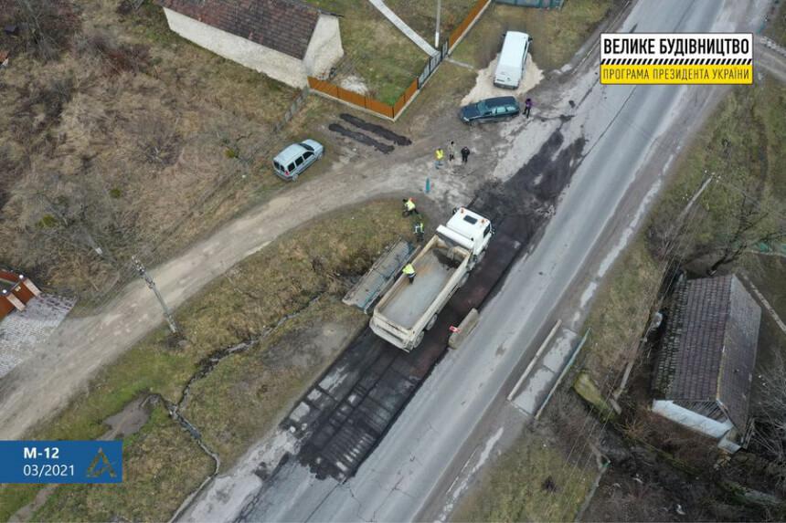 На Прикарпатті ремонтують чотири мости на дорозі міжнародного значення (ФОТО)