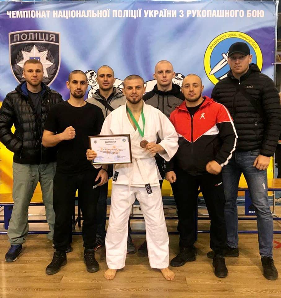 Прикарпатські поліціянти вибороли четверте місце на Чемпіонаті Нацполіції України з рукопашного бою (ФОТО)