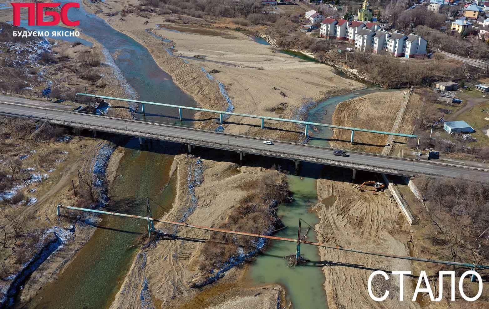 Дорогу біля Чернієва захистили 130-метровою дамбою (ФОТО)