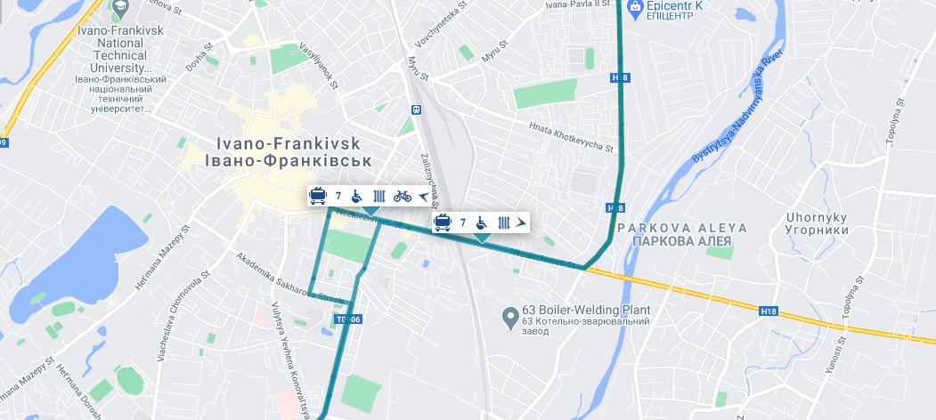 Відтепер франківці можуть у Dozor побачити тролейбуси з майданчиками для роверів (ФОТО)