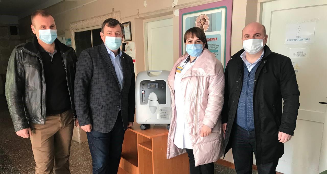 Медзаклад у Більшівцях отримав кисневий концентратор (ФОТО)
