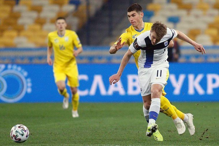 Відбір на Чемпіонат світу з футболу: збірна України зіграла внічию проти Фінляндії