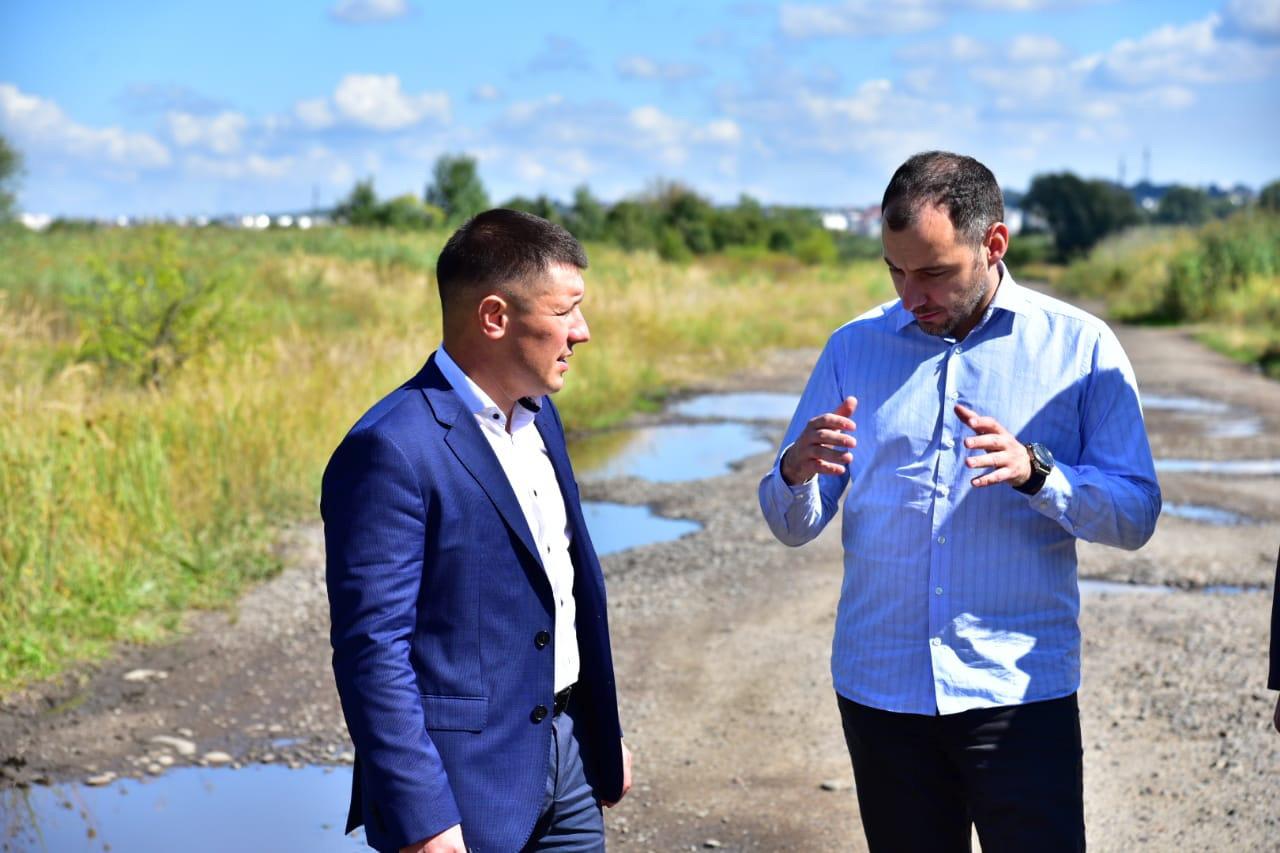 """Едуард Прощук: """"На ремонт Окружної дороги Калуша уже отримали частину фінансування – 50 млн гривень"""" (ВІДЕО)"""