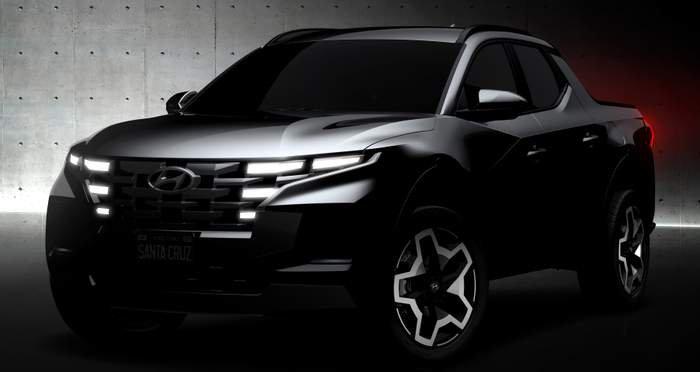 Як виглядатиме пікап Hyundai Santa Cruz (ФОТО)