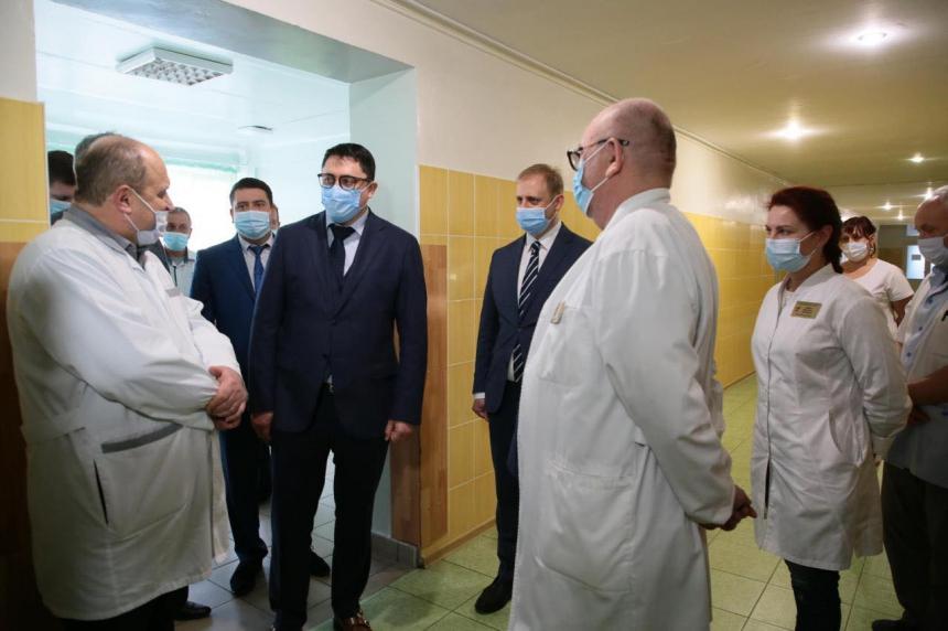 Андрій Бойчук: в обласному перинатальному центрі для породіль облаштували палати сімейного типу (ВІДЕО)