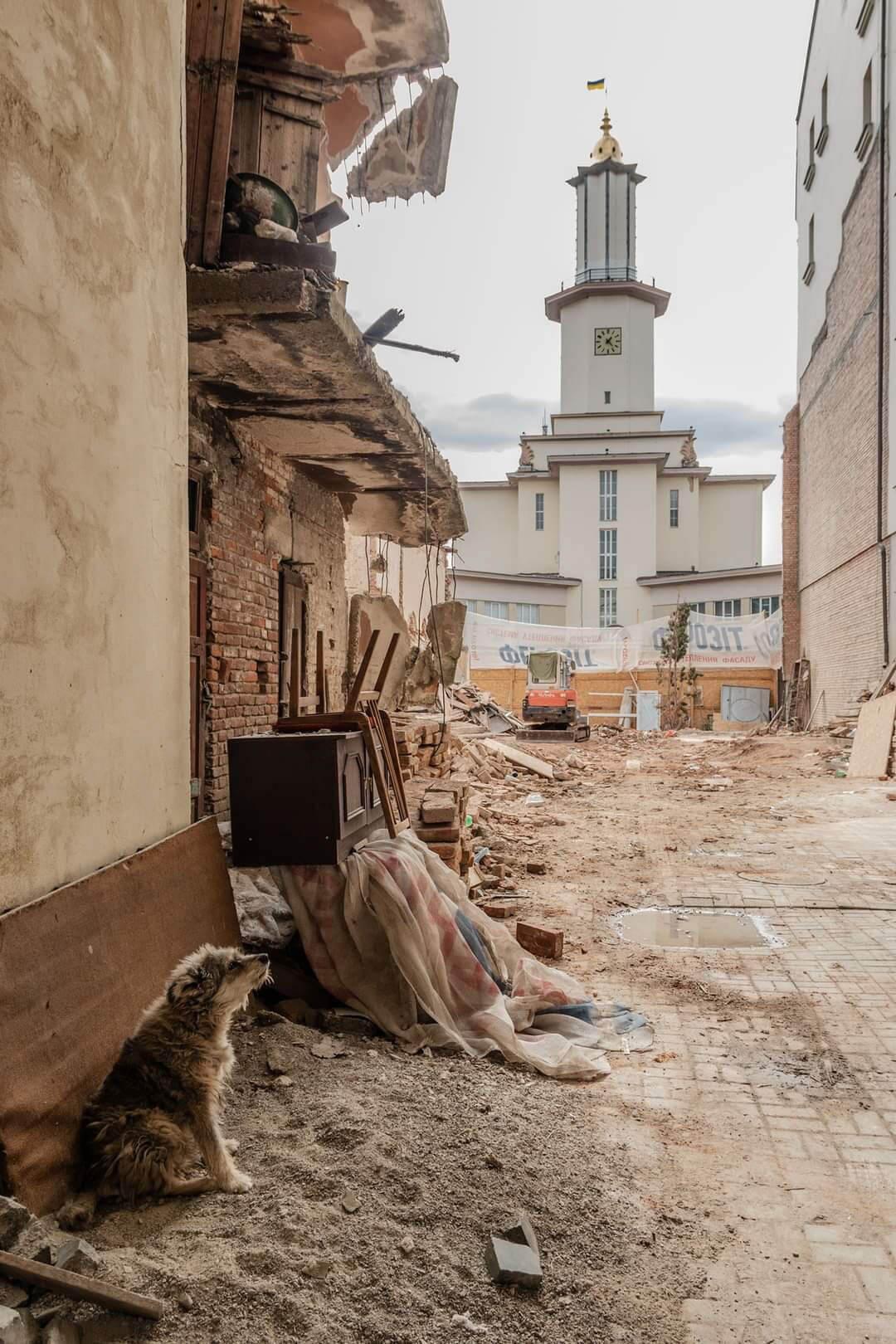 У мережі показали світлини зруйнованої та зіпсованої старовинної архітектури Франківська (ФОТО)