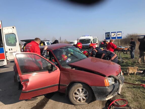 У Галичі зіткнулись дві автівки. Є потерпілий (ФОТО)