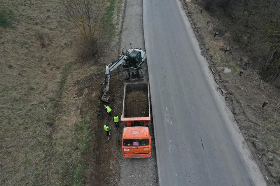 На Рогатинщині розширюють дорогу міжнародного значення (ФОТО)