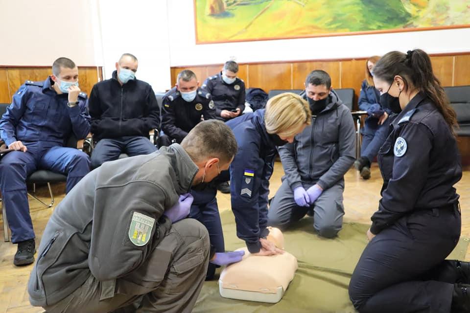 Муніципали та працівники судової охорони провели спільні навчання (ФОТО)