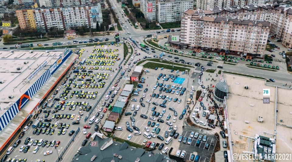 У Франківську збирають комісію через McDonald's і транспортний колапс на Каскаді