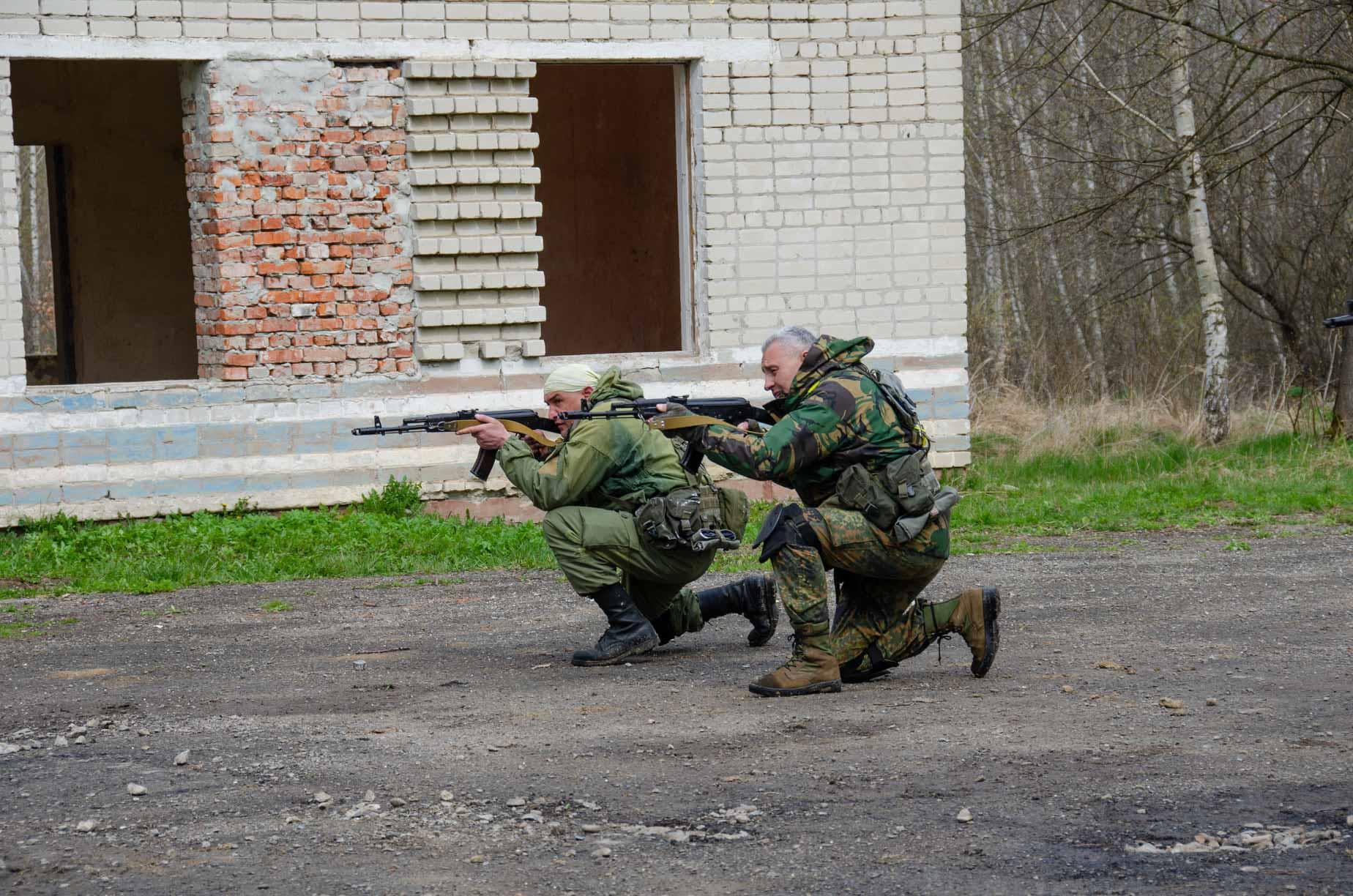 Як на полігоні у Старому Лисці провели єдиний стрілецький день (ФОТОРЕПОРТАЖ)
