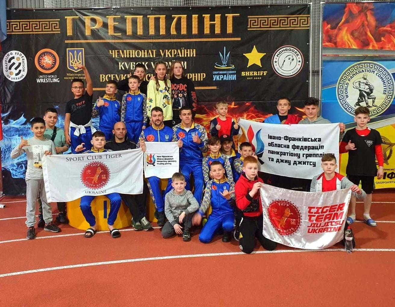 Третє місце посіли юні прикарпатські борці на Чемпіонаті України (ФОТО)