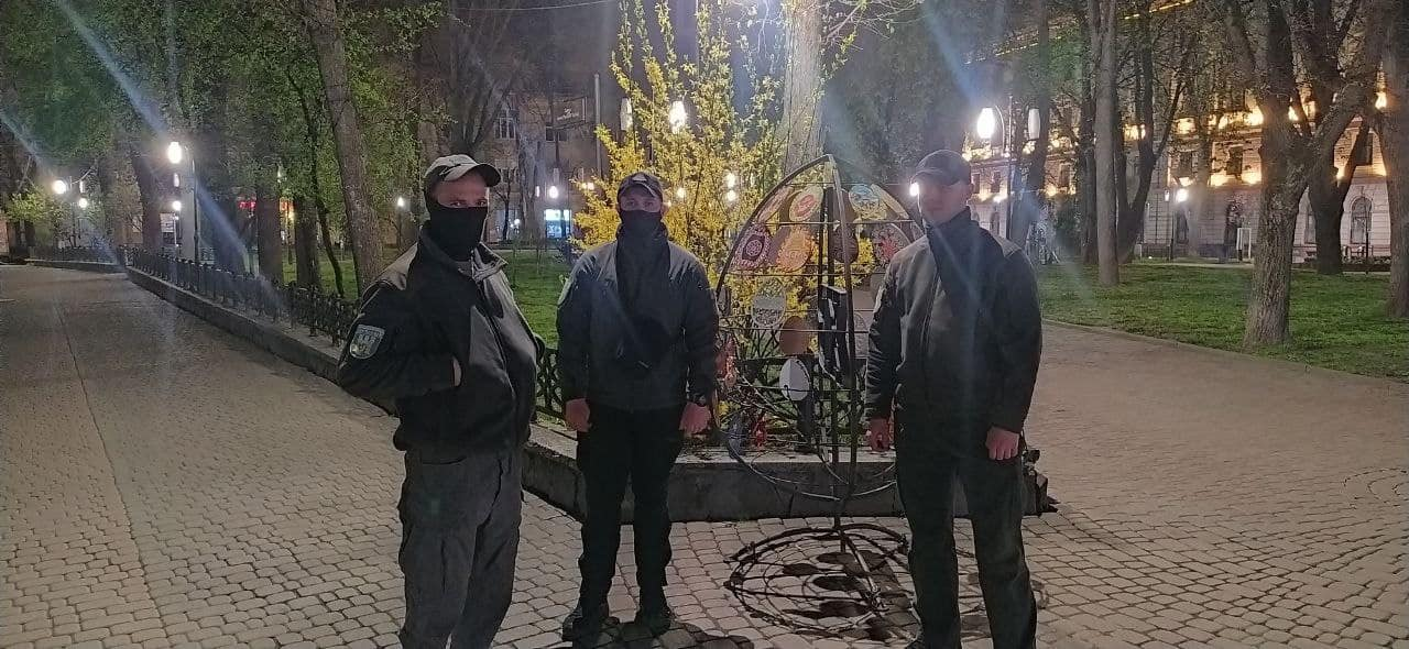 Муніципали до 10 травня у посиленому режимі патрулюватимуть центр Франківська (ФОТО)