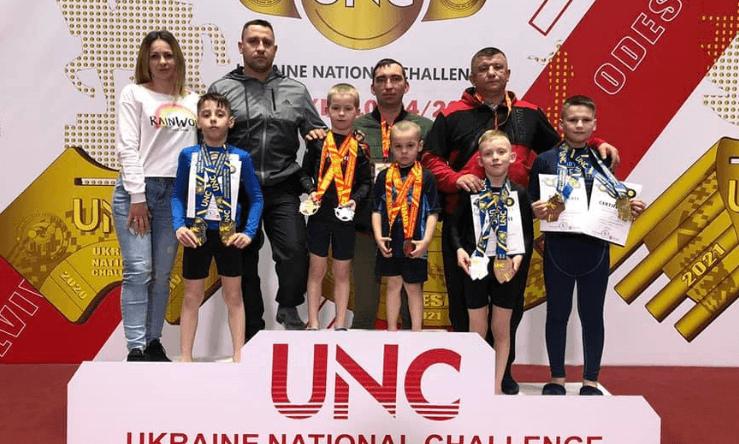 Юні прикарпатці привезли медалі з чемпіонату із джиу джитсу в Харкові (ФОТО)
