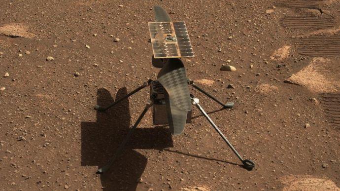 Гелікоптер NASA здійснив перший політ на Марсі (ФОТО, ВІДЕО)