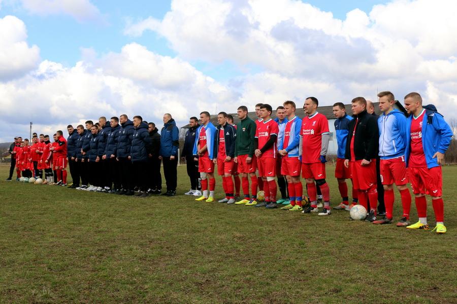Футбольні команди Нацгвардії Прикарпаття поступилася суперникам з Вінниччини (ФОТО)