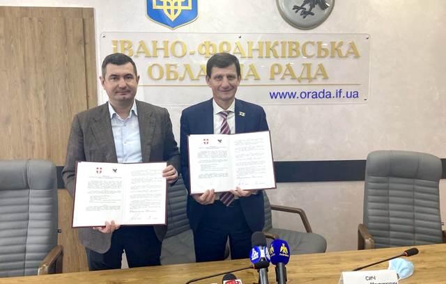 Івано-Франківська і Волинська облради співпрацюватимуть у книговиданні та видобутку надр (ФОТО)