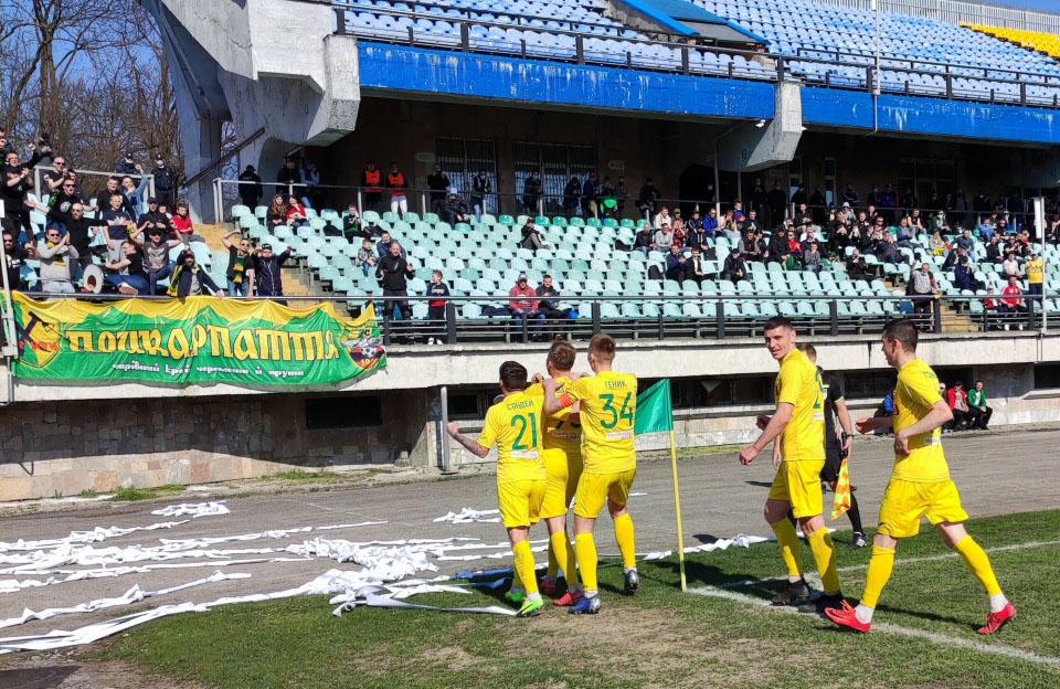 Футболісти «Прикарпаття» вдома перемогли «Кремінь» (ФОТО)