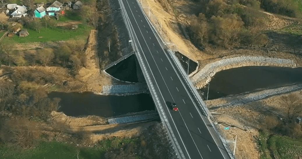 Як виглядає оновлений міст на дорозі національного значення на Калущині (ВІДЕО)