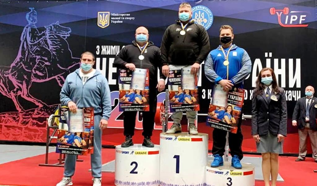 Прикарпатський студент встановив рекорд України з класичного жиму лежачи (ФОТО)