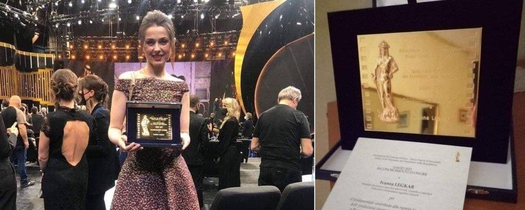 Уродженку Снятина відзначили на італійському кінофестивалі (ФОТО)