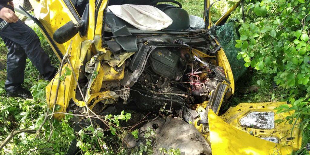 У Солотвинський ТГ смертельна аварія: автомобіль злетів з дороги (ФОТО)