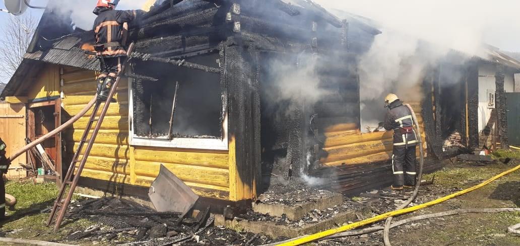На пожежі у Франківському районі знайшли людські рештки (ФОТО)