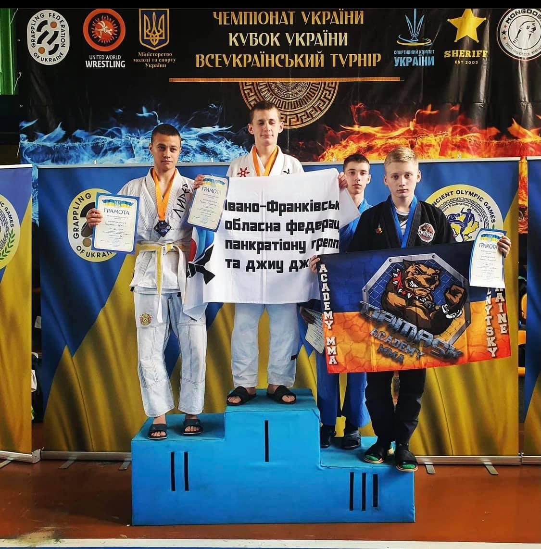 Юні коломияни – чемпіони України з грепплінгу (ФОТО)