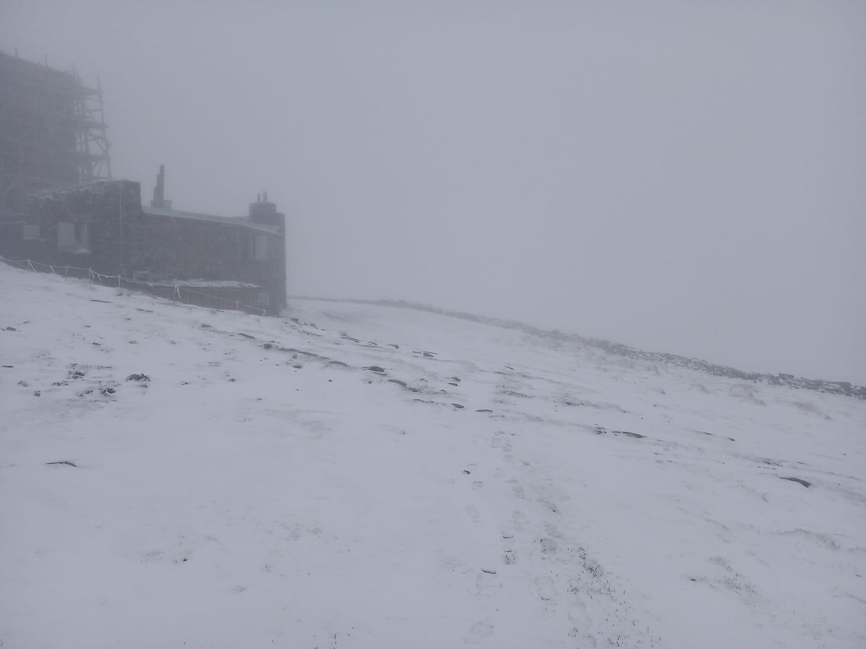 В останню неділю весни в Карпатах сніжить (ФОТОФАКТ)
