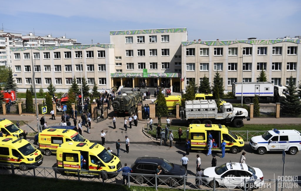 У Казані влаштували стрілянину в школі: як мінімум 9 загиблих, діти вистрибували з вікон (ФОТО, ОНОВЛЮЄТЬСЯ)