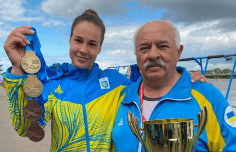 """Два """"золота"""" та дві """"бронзи"""" здобула франківська веслувальниця на етапі Кубка світу в Угорщині (ФОТО)"""