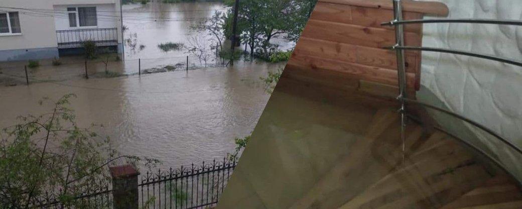 У Калуші повідомляють про затоплення мікрорайону (ФОТО)