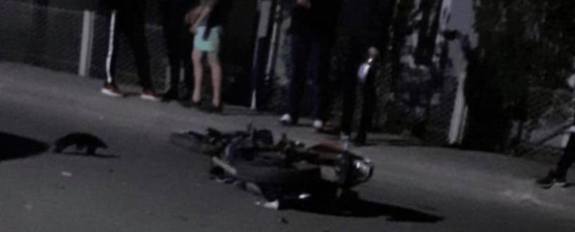 У Рожнятові авто зіткнулося з мотоциклом: водій останнього – у лікарні (ФОТОФАКТ)