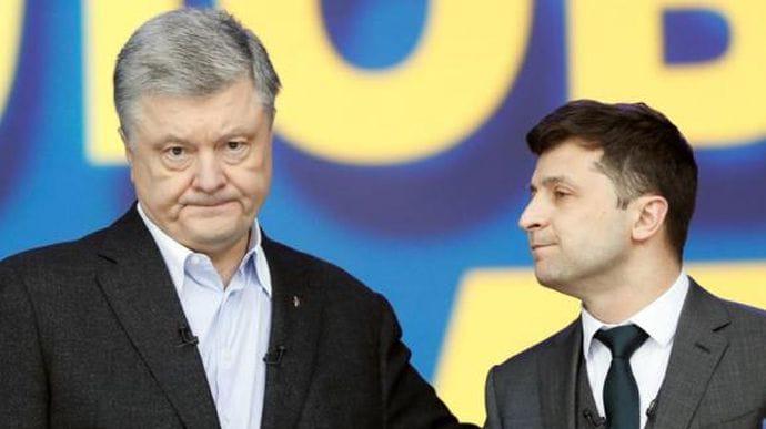 Зеленський втратив більше половини електорату, Порошенко – менше третини, – опитування