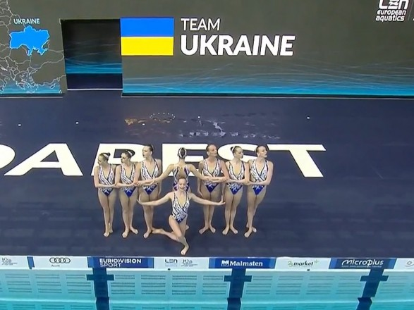 Україна здобула третю медаль на чемпіонаті Європи з водних видів спорту