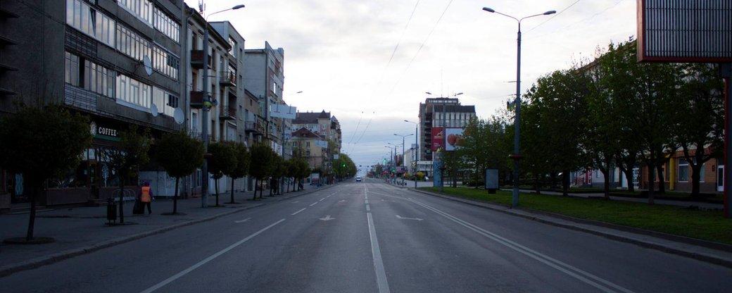Як виглядає безлюдний Івано-Франківськ (ФОТО)