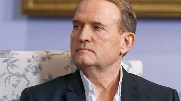 У будинку Медведчука проводять обшуки – Венедіктова оголосила йому підозру у держзраді