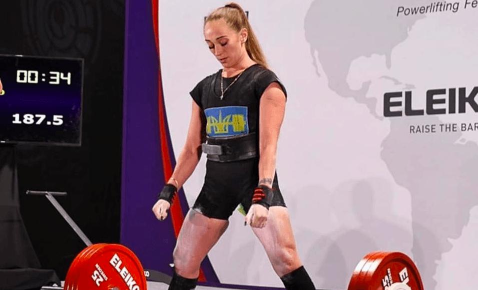 Франківка виконала присід з рекордною вагою на чемпіонаті України зпаверліфтингу (ФОТО)