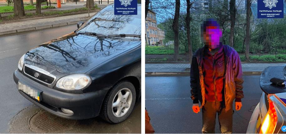 На Мазепи патрульні зупинили авто за порушення ПДР, а виявили у салоні крадіїв (ФОТО)