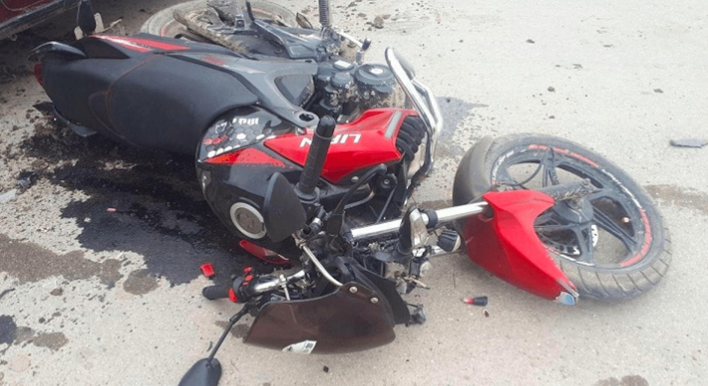 На Надвірнянщині неповнолітній мотоцикліст зіткнувся з 11-річним велосипедистом
