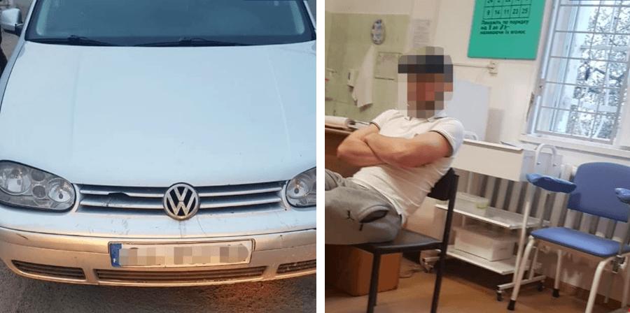 На Надрічній спіймали водія під кайфом з наркотиками (ФОТО)