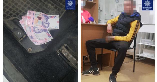 Водій під наркотиками без прав пропонував франківським патрульним хабаря (ФОТО)