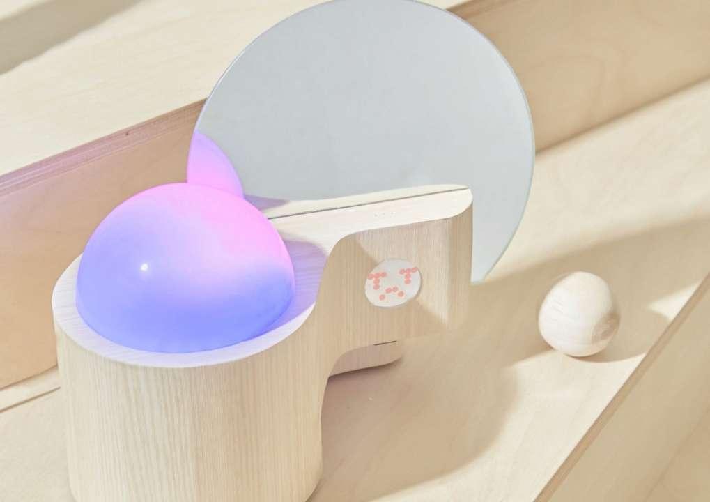 Дизайнери створили лампу, яка перетворює емоції в світло