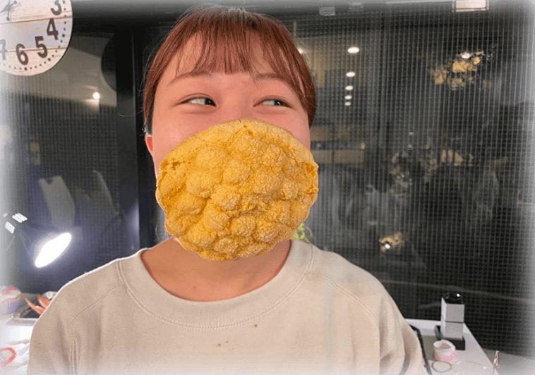 У Японії створили їстівні маски (ФОТО)