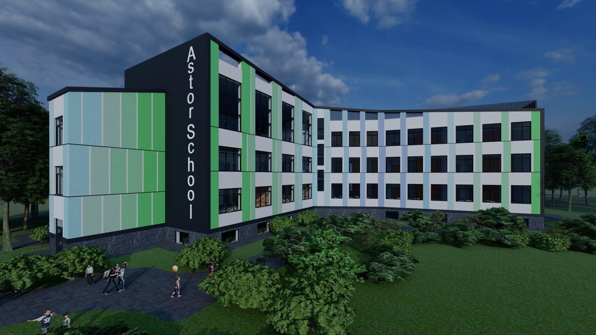 Уроки з видом на озеро: у Франківську будують нову приватну школу (ФОТО)