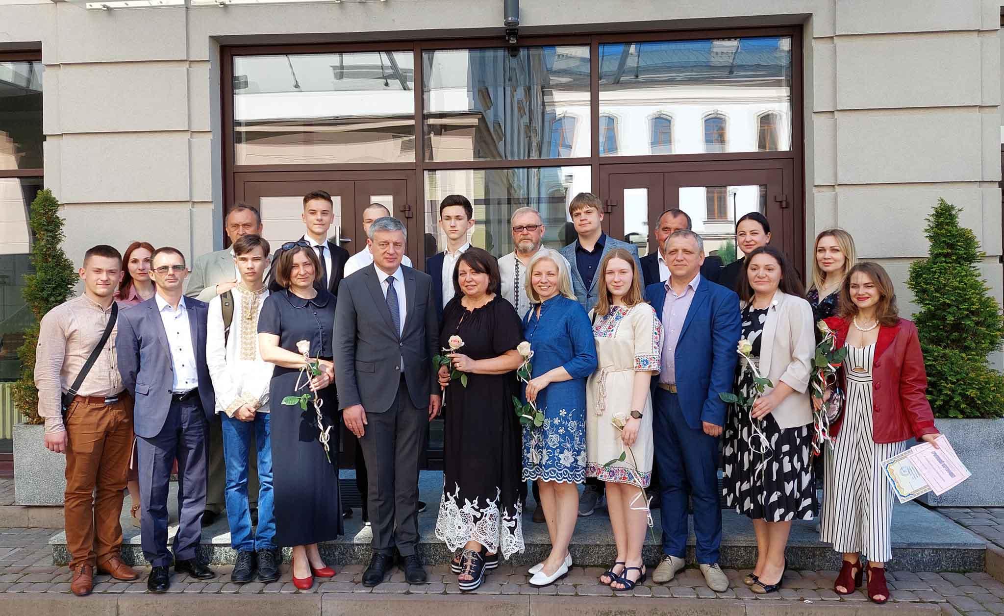 У Коломиї відзначили найкращого педагога та переможців МАН (ФОТО)