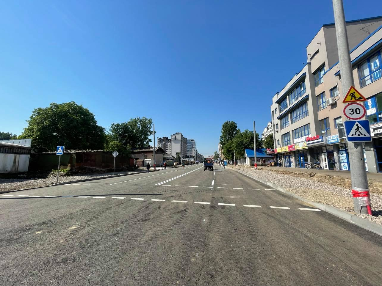 Комісія з безпеки не погодила схему організації руху, але з'єднані бульвари вже відкрили (ВІДЕО)