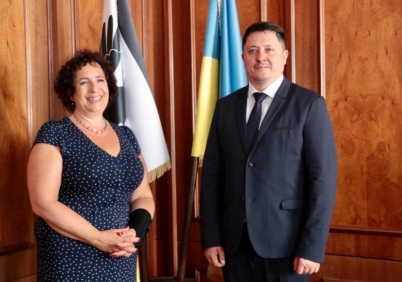 Голова Івано-Франківської ОДА зустрівся з Послом Великої Британії та Послом Канади