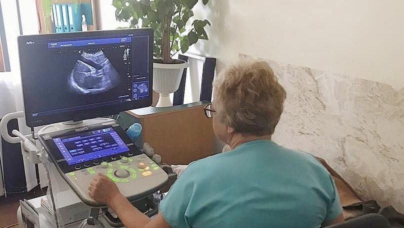 Сучасний УЗД-апарат отримала Долинська лікарня (ФОТО)