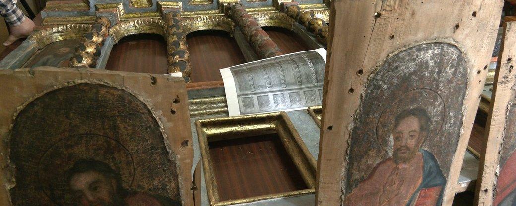 У Франківську відреставрували іконостас, якому чверть тисячоліття (ФОТО, ВІДЕО)